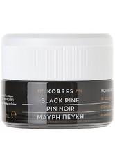 Korres Gesichtspflege Anti-Aging Black Pine 3D Sculpting Firming & Lifting Night Cream 40 ml