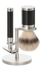 Mühle Produkte Rocca 3 tlg. Rasierset Silvertip Fibre®, Griff Schwarz Rasiergel 1.0 pieces