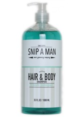SNIP A MAN - Snip a Man Hair & Body Shampoo fresh juniper 1000 ml - SHAMPOO & CONDITIONER