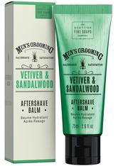 THE SCOTTISH FINE SOAP COMPANY - Scottish Fine Soaps Vetiver & Sandalwood Aftershave Balm 75 ml - AFTERSHAVE