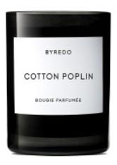 BYREDO - Cotton Poplin Bougie Parfumée - DUFTKERZEN