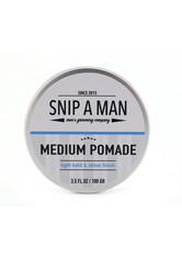 SNIP A MAN Produkte Medium Pomade Haarwachs 100.0 g