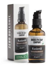 BROOKLYN SOAP COMPANY - Rasieröl - RASIERSCHAUM & CREME