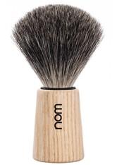 NOM - nom Produkte Rasierpinsel THEO, reines Dachshaar, Pure Ash Rasierpinsel 1.0 st - RASIER TOOLS