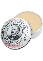 Captain Fawcett's Produkte Beard Balm Private Stock Bartpflege 60.0 ml