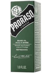 PRORASO Bartöl »Green Refreshing«, zähmt lange Bärte