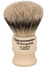 Taylor of Old Bond Street Super Badger Shaving Brush medium Ivory Rasierpinsel