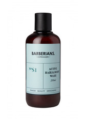 Barberians Grooming Active Hair & Bodywash Duschgel  250 ml