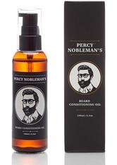 Percy Nobleman Pflegeprodukte Beard Conditioning Oil Duftfrei Bartpflege 100.0 ml