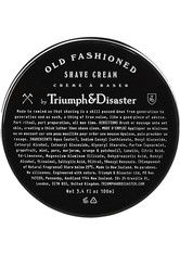 Triumph & Disaster Produkte Old Fashioned Shave Cream Jar Rasiercreme 100.0 ml