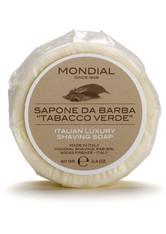Mondial Luxury Shaving Soap Travel Pack 60 g Tabacco Verde Rasierseife