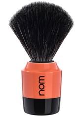 nom Produkte Rasierpinsel MARTEN Black Fibre Black/Coral Pinsel 1.0 pieces