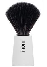 NOM - nom Rasierpinsel CARL Black Fibre White 1 stk - TOOLS