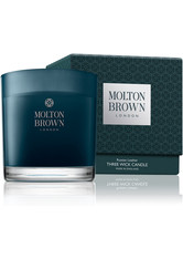 MOLTON BROWN - Molton Brown Russian Leather Single Wick Candle 180 g - DUFTKERZEN