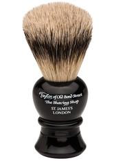 Taylor of Old Bond Street Super Badger Shaving Brush small/medium black Rasierpinsel