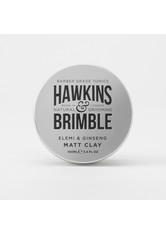 HAWKINS & BRIMBLE - Hawkins & Brimble Elemi & Giseng Matte Clay 100 ml - HAARWACHS & POMADE