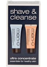men-ü Shave & Cleanse Duo Travel Set 1 stk