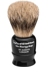 Taylor of Old Bond Street Produkte Reisepinsel schwarz, Silberspitz Rasierpinsel 1.0 st