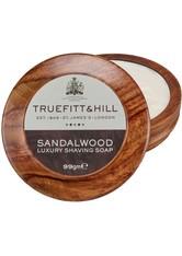 TRUEFITT & HILL Produkte Sandalwood Luxury Shaving Soap in Wooden Bowl Seife 99.0 g