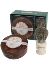 D.R. HARRIS - D.R. Harris Produkte D.R. Harris Produkte Sandalwood Shave Soap Set Mahogany Rasierseife 1.0 pieces - Rasierschaum & Creme