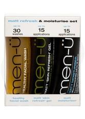 men-ü Produkte Matt Refresh & Moisturise Set Gesichtsreinigungsset 1.0 st