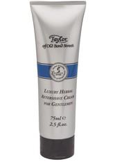 Taylor of Old Bond Street Luxury Herbal Aftershave Cream - Aftershave Creme 75 ml After Shave Gel