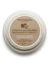 Mondial Luxury Shaving Cream Travel Pack 75 ml Bergamotto Neroli Rasiercreme