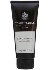 TRUEFITT & HILL Produkte Sandalwood Shaving Cream Rasierer 75.0 g
