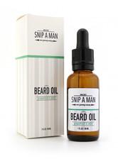 SNIP A MAN - Snip a Man Beard Oil Grapefruit Mint 30 ml - BARTPFLEGE