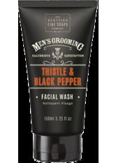 THE SCOTTISH FINE SOAP COMPANY - Scottish Fine Soaps Thistle & Black Pepper Facial Wash 100 ml - REINIGUNG