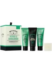 Scottish Fine Soaps Produkte Vetiver & Sandalwood Luxurious Gift Set Rasiergel 1.0 pieces