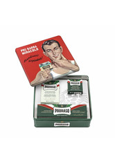 PRORASO Rasiercreme »Vintage Gino«, 3-tlg., Green Refreshing Serie