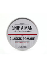 SNIP A MAN - SNIP A MAN Produkte Classic Pomade Haarwachs 100.0 g - HAARWACHS & POMADE