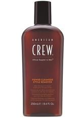 AMERICAN CREW - American Crew Power Cleanser Style Remover zur Entfernung von Rückständen (250ml) - SHAMPOO & CONDITIONER