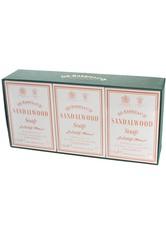 D.R. Harris Produkte Sandalwood Bath Soap Box of 3 Seife 3.0 pieces