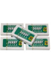 DERBY - Derby Rasierklingen Derby Extra (0,10 mm) im 5 x 5er Pack 25 stk - RASIER TOOLS