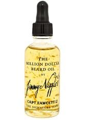 CAPTAIN FAWCETT'S - Captain Fawcett's Produkte Million Dollar Beard Oil Bartpflege 50.0 ml - BARTPFLEGE