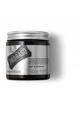 PRORASO Produkte Minze & Rosmarin Bart Exfoliating Paste Bartpflege 100.0 ml