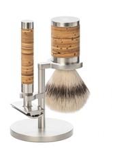 Mühle Produkte Rocca 3 tlg. Rasierset Silvertip Fibre®, Griff Birkenrinde Rasiergel 1.0 pieces
