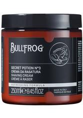 Bullfrog Shaving Cream Secret Potion N.3 Refreshing 250 ml Rasiercreme