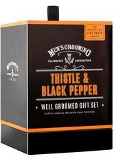 Scottish Fine Soaps Produkte Thistle & Black Pepper Well Groomed Gift Set Rasiergel 1.0 pieces
