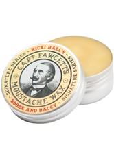 Captain Fawcett's Produkte Ricki Hall's Booze & Baccy Moustache Wax Bartpflege 15.0 ml