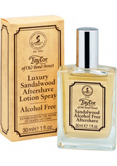 TAYLOR OF OLD BOND STREET - Taylor of Old Bond Street Luxury Sandalwood Aftershave Lotion Spray 30 ml - AFTERSHAVE