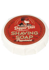 DAPPER DAN - Dapper Dan Shaving Soap Peppermint 70 g - RASIERSCHAUM & CREME