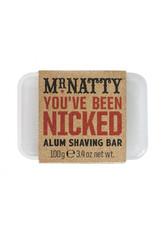 MR. NATTY - You've Been Nicked Alum Shaving Bar - RASIERSCHAUM & CREME