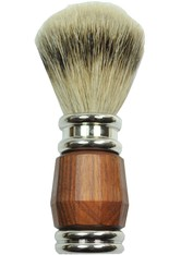 Golddachs Produkte Rasierpinsel Silberspitze Grifffarbe Palisander/Silber Rasierpinsel 1.0 st