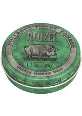 REUZEL - Reuzel Pomade Green Grease Medium Hold - HAARWACHS & POMADE