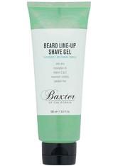 Baxter of California Bartpflege Beard Line-Up Shave Gel Rasierschaum 100.0 ml