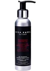 Acca Kappa Produkte Barber Shop Transparent Shaving Gel Rasierschaum 125.0 ml