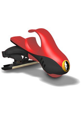 HEADBLADE - HeadBlade HB4 Fire Dept. Moto Headshaver 1 stk - RASIER TOOLS